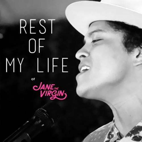 Bruno Mars The Rest Of My Life cover art