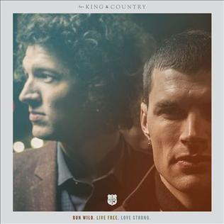 for KING & COUNTRY It's Not Over Yet cover art