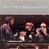 That's What Friends Are For sheet music by Dionne & Friends