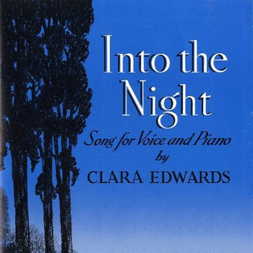 Clara Edwards Into The Night cover art