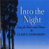Into The Night sheet music by Clara Edwards