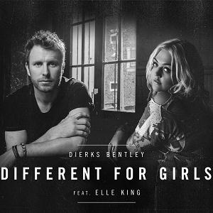 Dierks Bentley feat. Elle King Different For Girls cover art