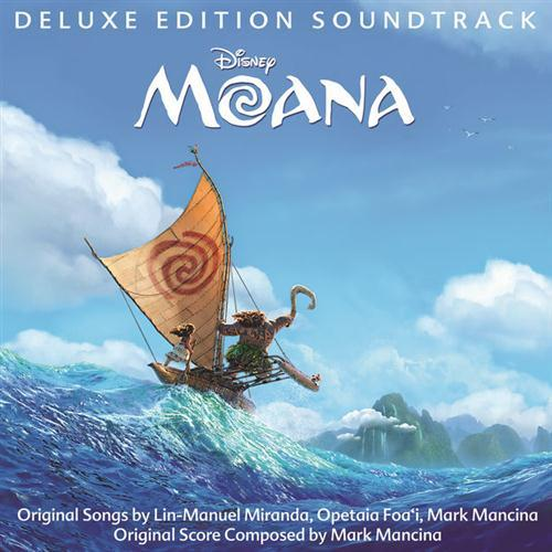Lin-Manuel Miranda We Know The Way (from Moana) cover art