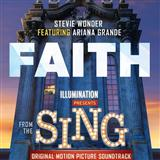 Faith (feat. Ariana Grande) sheet music by Stevie Wonder