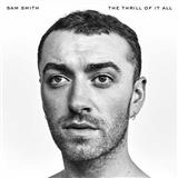 Burning sheet music by Sam Smith