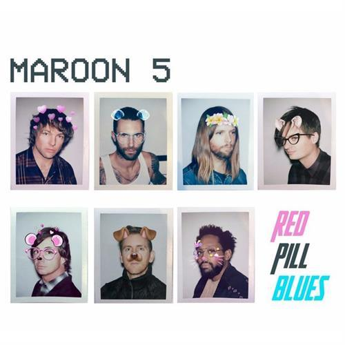Maroon 5 with Julia Michaels Help Me Out cover art