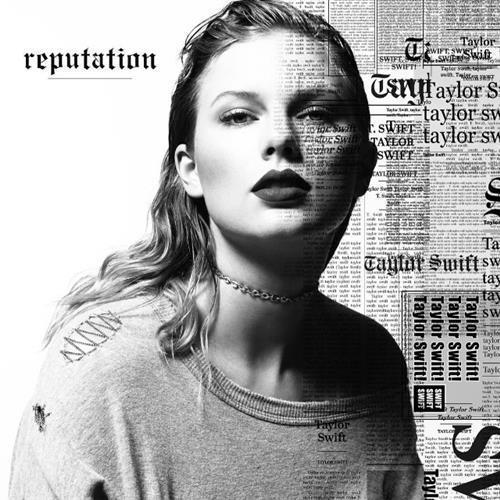 Taylor Swift New Year's Day cover art