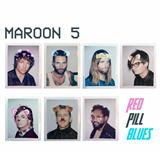 Partition piano Whiskey (feat. A$AP Rocky) de Maroon 5 - Piano Voix Guitare (Mélodie Main Droite)