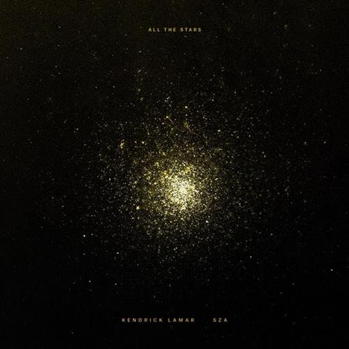 Kendrick Lamar and SZA All The Stars cover art