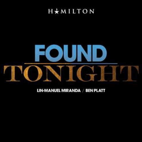 Ben Platt & Lin-Manuel Miranda Found/Tonight cover art