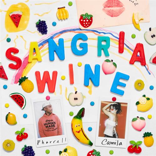 Camila Cabello and Pharrell Williams Sangria Wine cover art