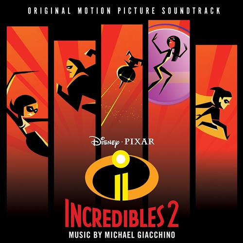 Michael Giacchino Chill Or Be Chilled - Frozone's Theme (from The Incredibles 2) cover art