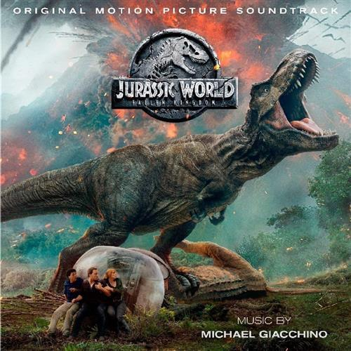 Michael Giacchino Thus Begins The Indo-Rapture (from Jurassic World: Fallen Kingdom) cover art
