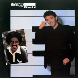 Paul McCartney w/Stevie Wonder Ebony And Ivory cover art
