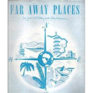 Joan Whitney Far Away Places cover art