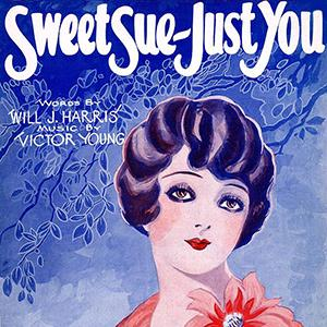 Will J. Harris Sweet Sue-Just You cover art