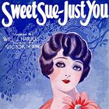 Sweet Sue-Just You sheet music by Will J. Harris