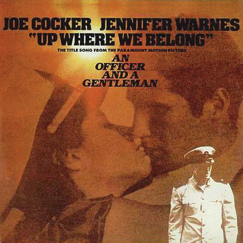 Joe Cocker & Jennifer Warnes Up Where We Belong cover art