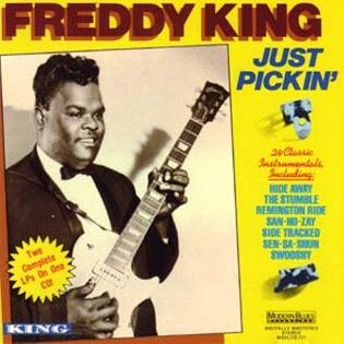 Freddie King The Sad Nite Owl cover art