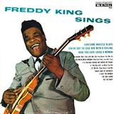 Lonesome Whistle Blues sheet music by Freddie King