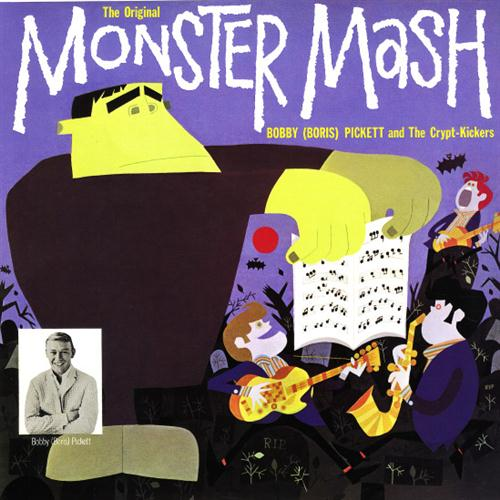 Bobby Pickett Monster Mash cover art