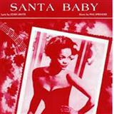 Santa Baby sheet music by Phil Springer