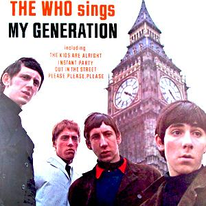 The Who My Generation cover art