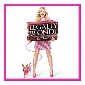Nell Benjamin Legally Blonde cover art
