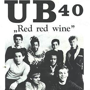 UB 40 Red, Red Wine cover art