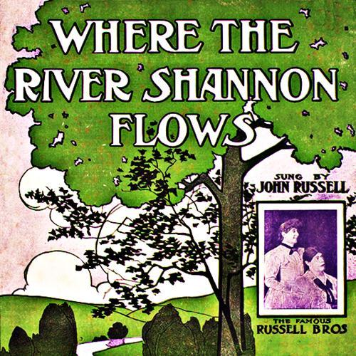 James J. Russell Where The River Shannon Flows cover art