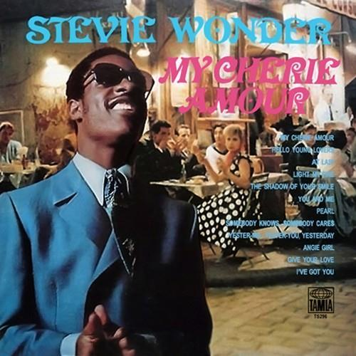 Stevie Wonder My Cherie Amour cover art