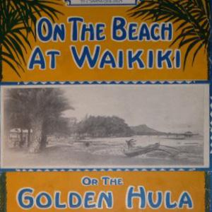 Henry Kailimaie On The Beach At Waikiki cover art