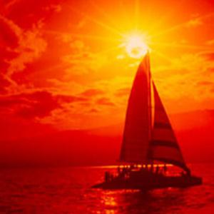 Hugh Williams Red Sails In The Sunset cover art