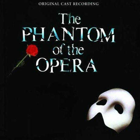 Andrew Lloyd Webber The Phantom Of The Opera cover art