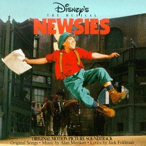 Alan Menken The Bottom Line (from Newsies) cover art
