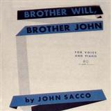 Brother Will, Brother John sheet music by John Sacco