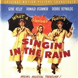 Singin' In The Rain sheet music by Arthur Freed