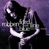 When I Leave Here sheet music by Robben Ford
