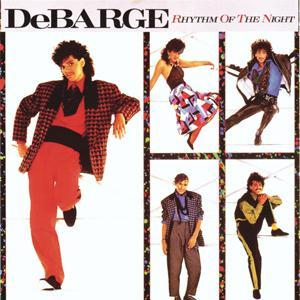 DeBarge Rhythm Of The Night cover art