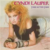 Time After Time (feat. Sarah McLachlan) sheet music by Cyndi Lauper
