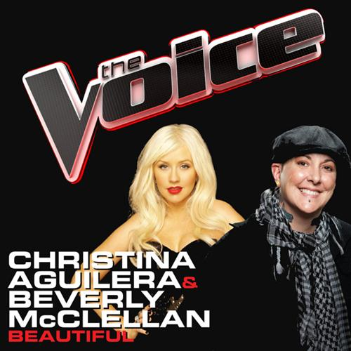 Christina Aguilera & Beverly McClellan Beautiful cover art