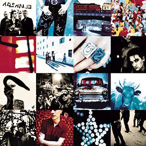 U2 Mysterious Ways cover art
