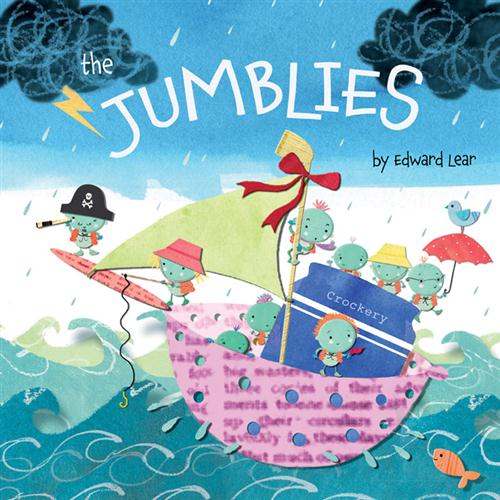 Jill Friedersdorf and Melissa Malvar-Keylock The Jumblies cover art