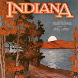 Indiana (Back Home Again In Indiana) sheet music by Ballard MacDonald