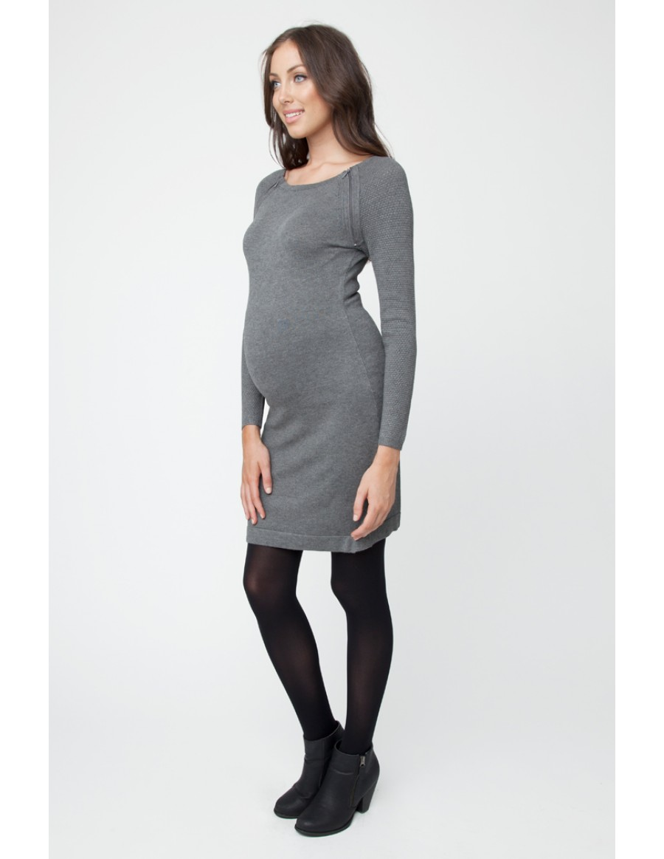 Nursing Tunic w/ Shoulder Zipper | Baby & Me Maternity - Baby & Me ...