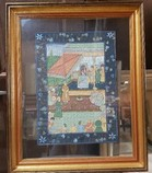 Beautiful-Asian-Print-on-Paper-Glass-Matted-Wood-Frame-23.5W-28.5H_5970A.jpg