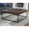 NEW-Brown-Leather-Top-Metal-Base-OttomanCoffee-Table_6737A.jpg