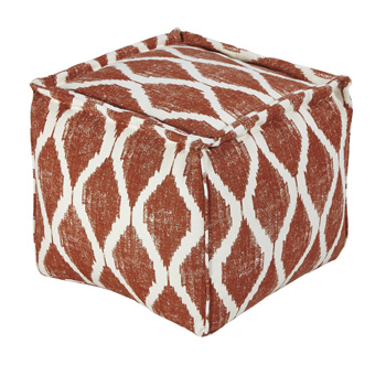 NEW-OrangeWhite-Contemporary-Pouf_3415A.jpg