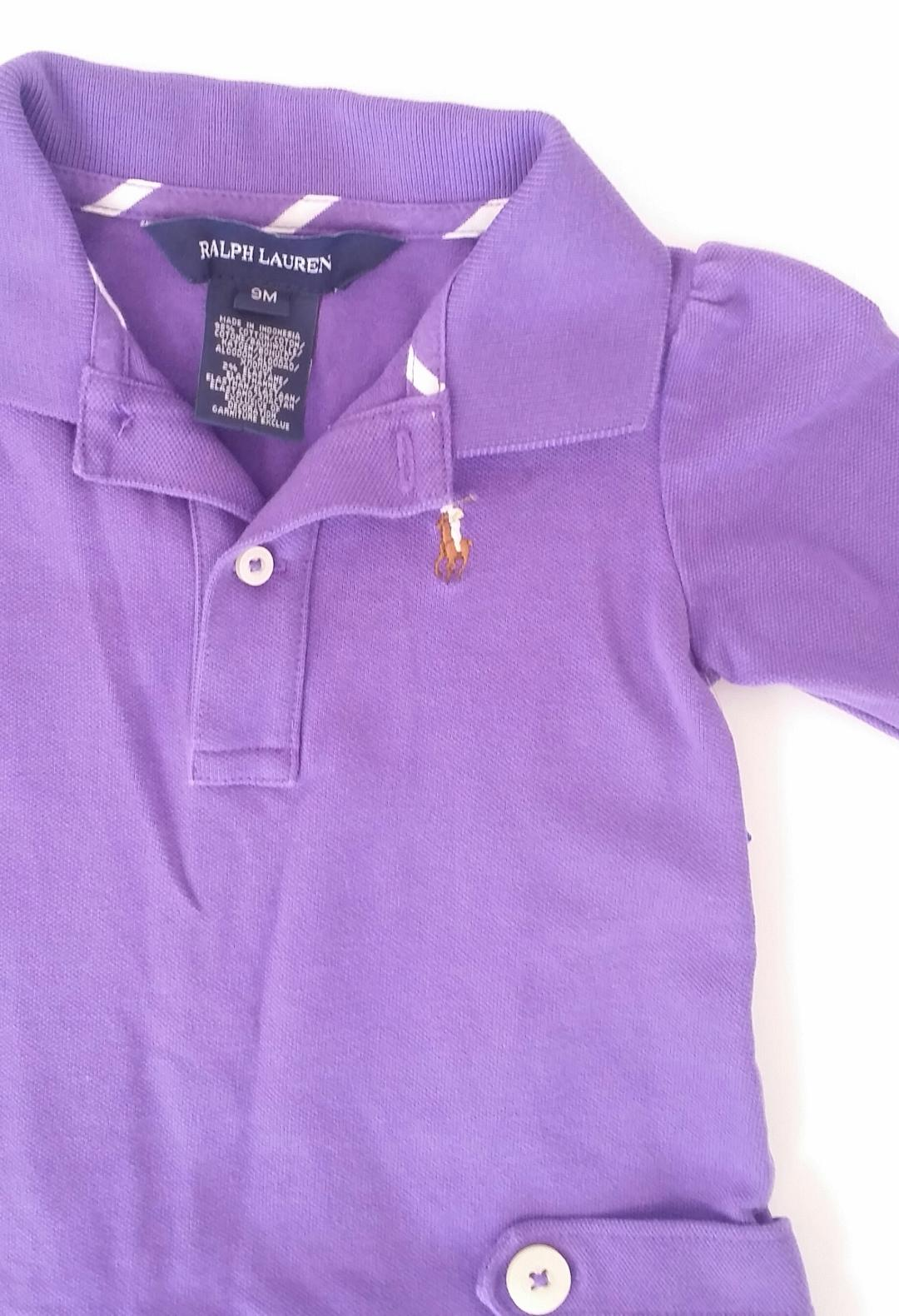 Ralph Lauren 6 12 Months Long Sleeve Polo Dress Chloes Closet