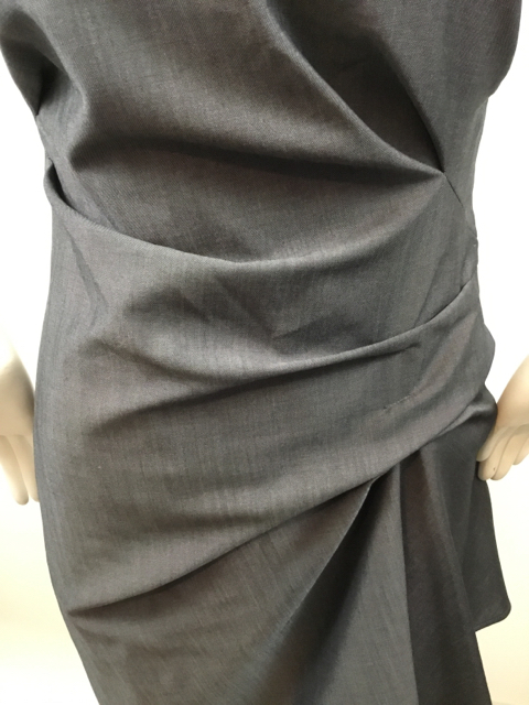 Lida-Baday-Size-2-Ruched-Grey-Dress_9789G.jpg